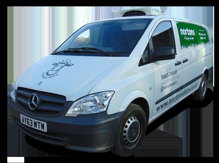 Nortons Dairy Delivery Van