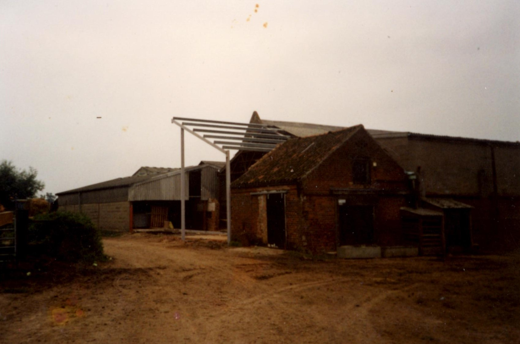 New Dairy Barn Extension, 1996