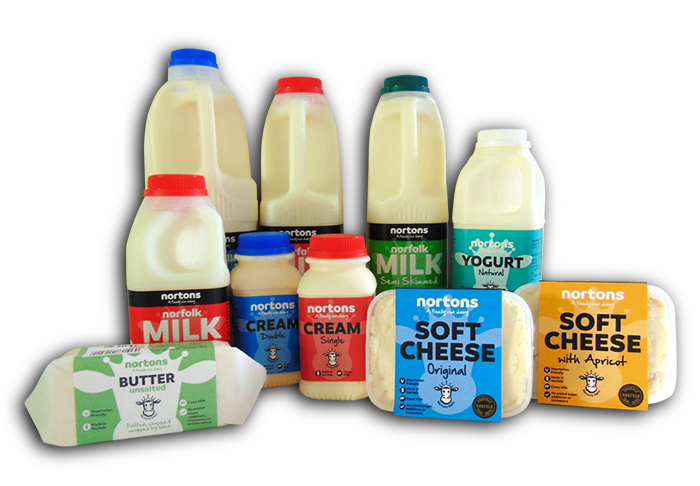 Nortons Dairy, Norfolk - Products