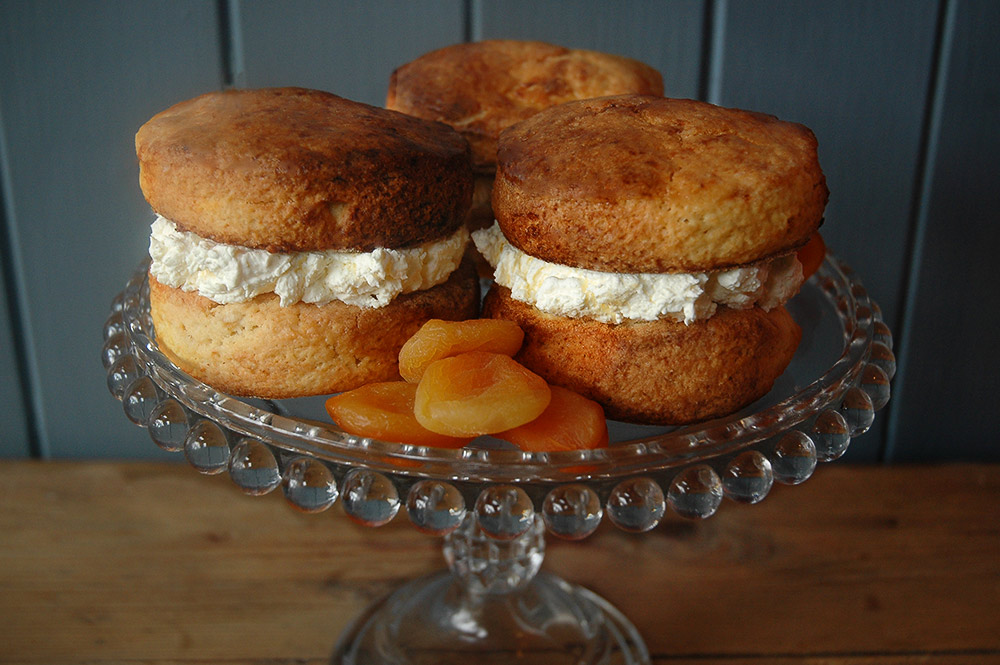 Nortons Apricot Soft Cheese Scones