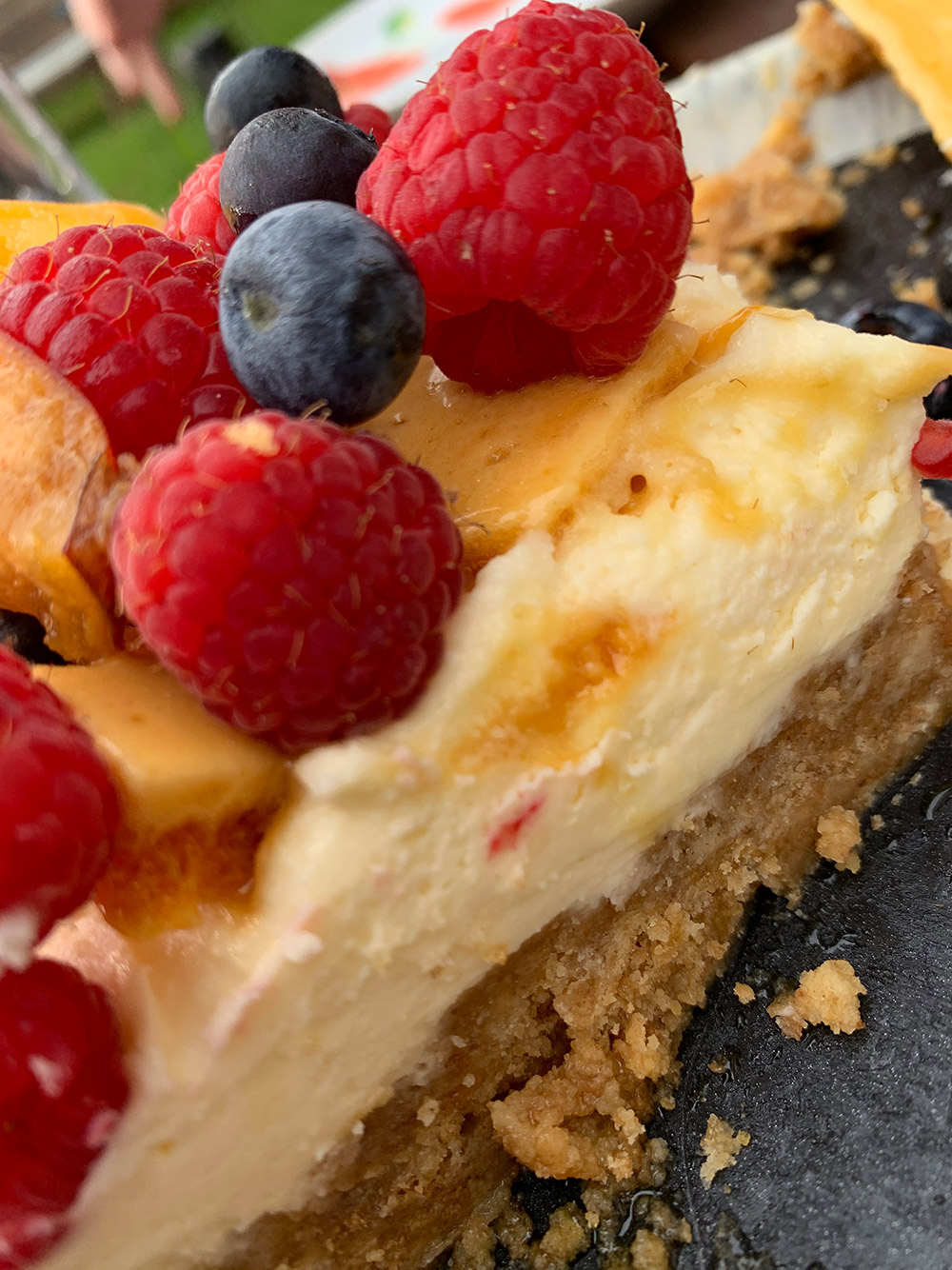 Lemon and Honeycomb Cheesecake